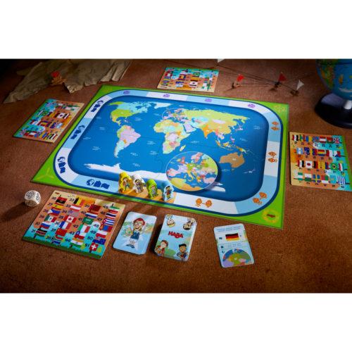 Vzdelávacia hra Krajiny sveta