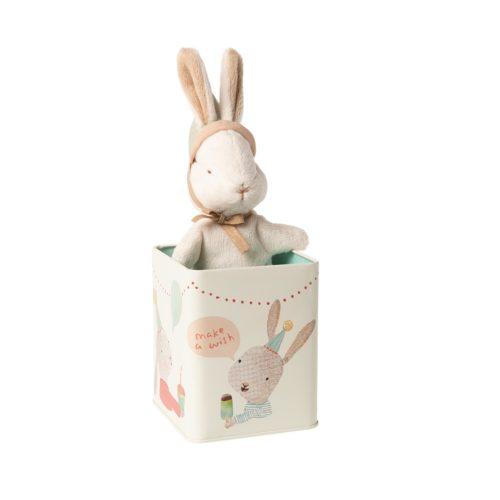 Zajko v darčekovom boxe