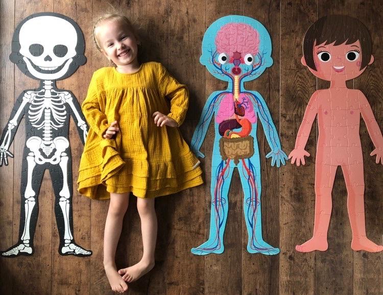 Janod puzzle ľudské telo