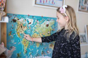 Magneticka mapa sveta