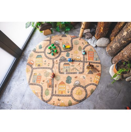 Detský koberec City Korkii