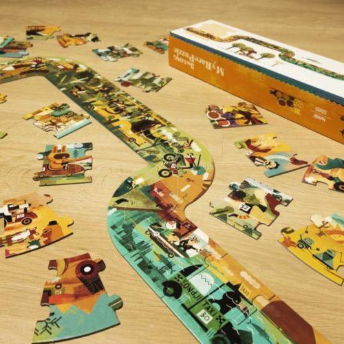Dlhé puzzle Veľká jazda