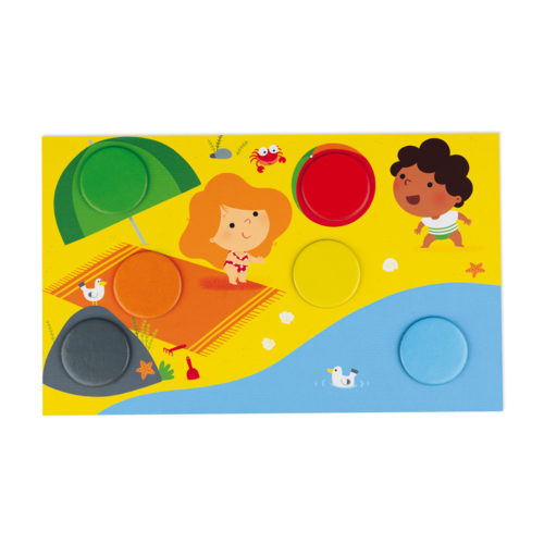 Hra Bingo učenie farieb