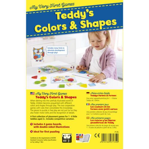 Moja prvá hra Teddy Farby a tvary