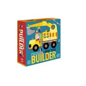 Puzzle Chcem byť staviteľom