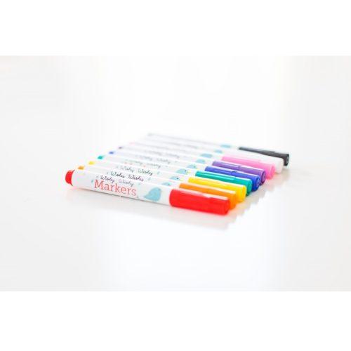 Set zmývateľných farebných fixiek