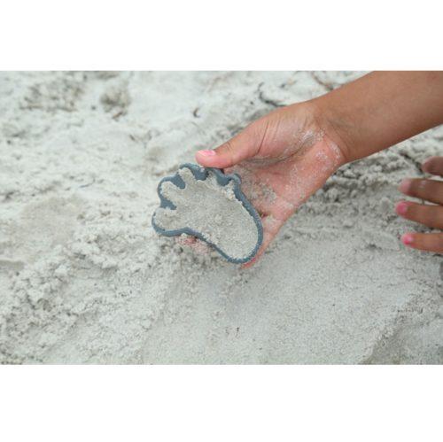 Silikónové formičky na piesok šedá