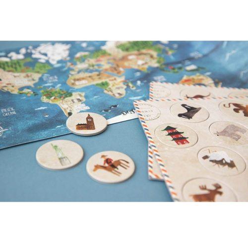 Veľké puzzle Objavuj svet