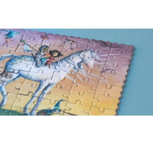 Vreckové puzzle Jednorožec