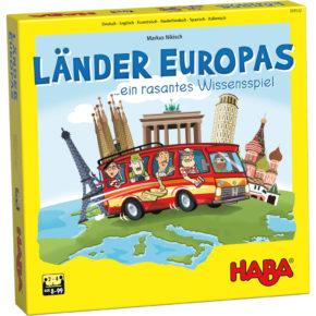 Vzdelávacia hra Krajiny Európy