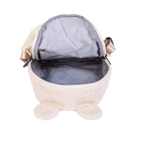 Detský ruksak First bag Teddy biela