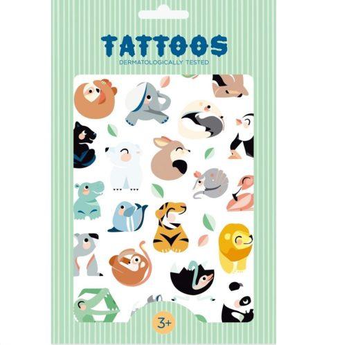 Tetovanie Divoké zvieratá