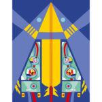 Janod Atelier Origami papierové skladačky Lietadlá Mini 6+ 5