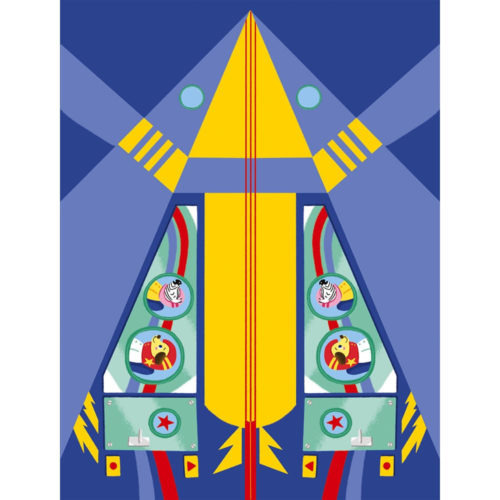 Janod Atelier Origami papierové skladačky Lietadlá Mini 6+