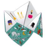 Janod Atelier Origami papierové skladačky Nebo peklo raj Mini 7+ 1