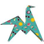 Janod Origami papierové skladačky Zvieratká (3)
