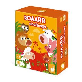 Janod Spoločenská hra pre deti Roaarr Challenge