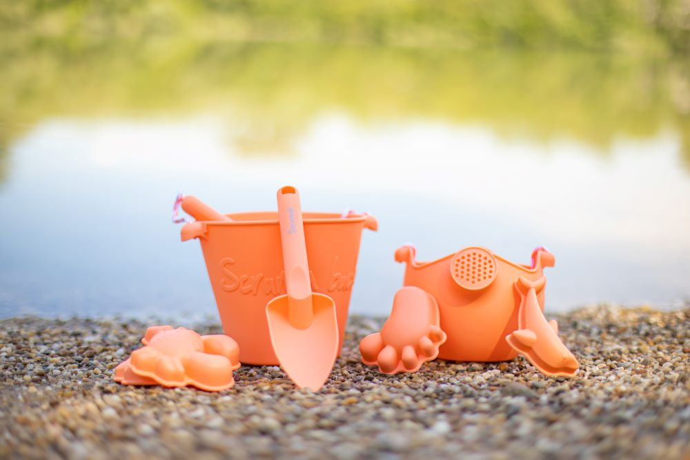 Scrunch hracky do vody a piesku