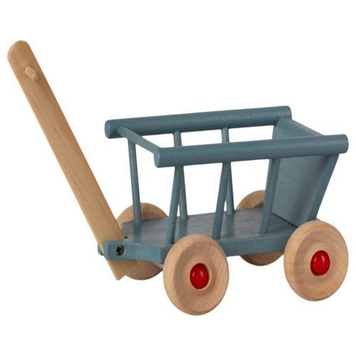 Vozík Maileg modrý