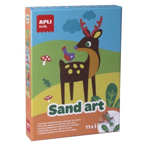 Kreatívna sada Farebný piesok APLI