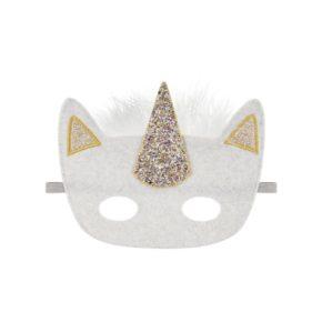 Maska na karneval Jednorožec