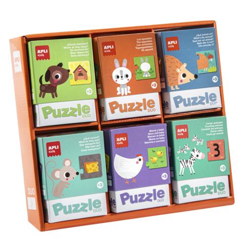 Puzzle duo pre najmenších Apli