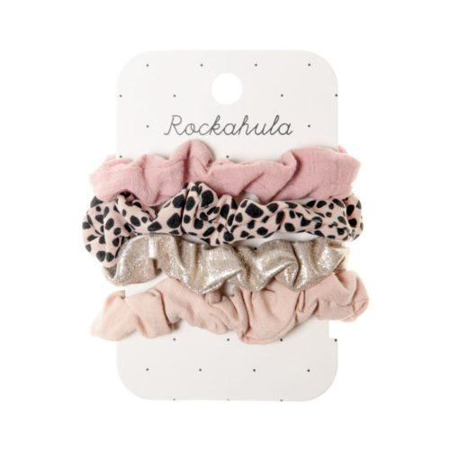 Gumičky Scrunchies Leopard