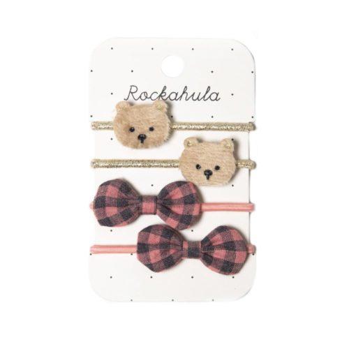 Gumičky do vlasov Teddy Bear