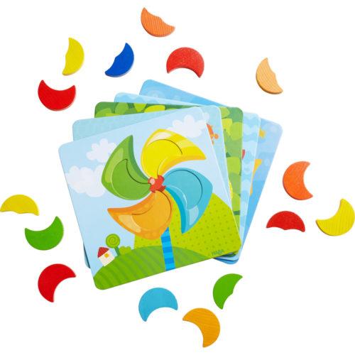 Haba Drevená hračka Priraďovanie farieb