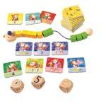 Haba hra pre deti Múdry medvedík matematika 1