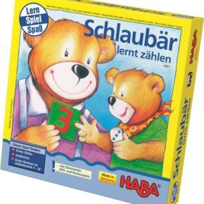 Haba hra pre deti Múdry medvedík matematika