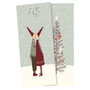 Vianočné obrúsky Pixy small