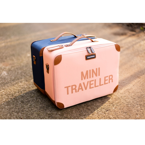 Childhome Detský cestovný kufor ružová