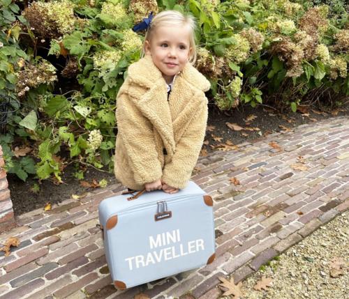 Childhome Detský cestovný kufor šedá