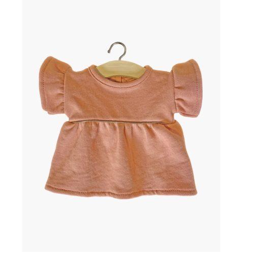 Minikane šaty Daisy hnedá