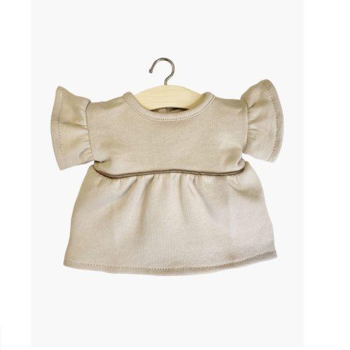 Minikane šaty Daisy natural