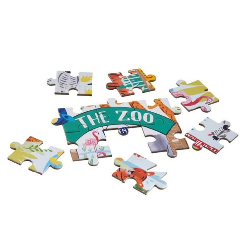 Puzzle Džungľa 80 ks Floss&Rock