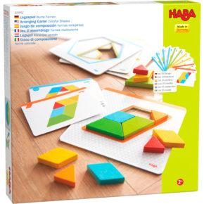 Haba hra Origami Tvary s predlohami