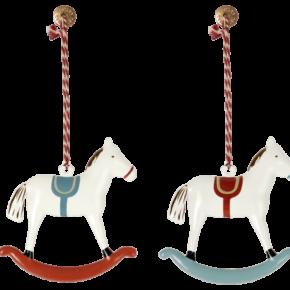 Vianočná ozdoba Hojdajúci koník