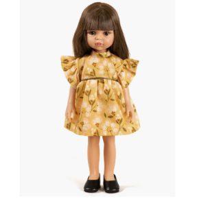 Bábika Carol v žltých šatách