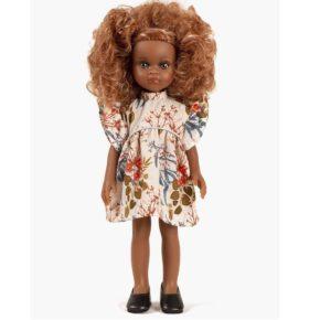 Bábika Melissa v kvietkovaných šatách