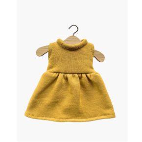 Šaty pre bábiku Amigas mustard